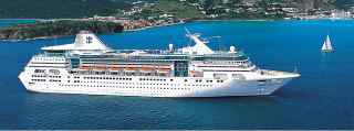 La nave da crociera Empress of the seas