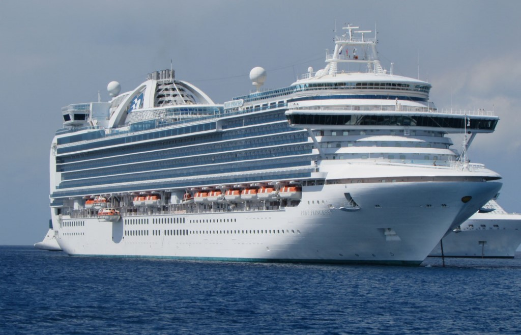 La nave da crociera Ruby Princess
