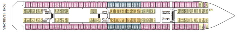 costa fascinosa cabine foto ponti prezzi crociera 2019