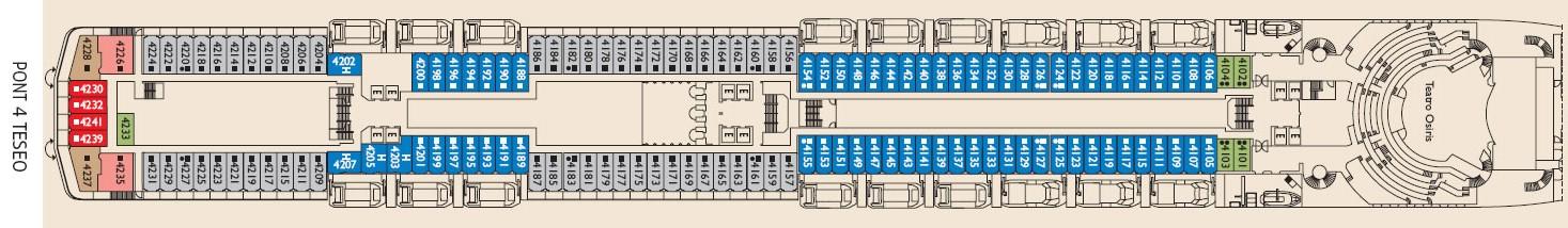 costa mediterranea cabine foto ponti prezzi crociera 2019