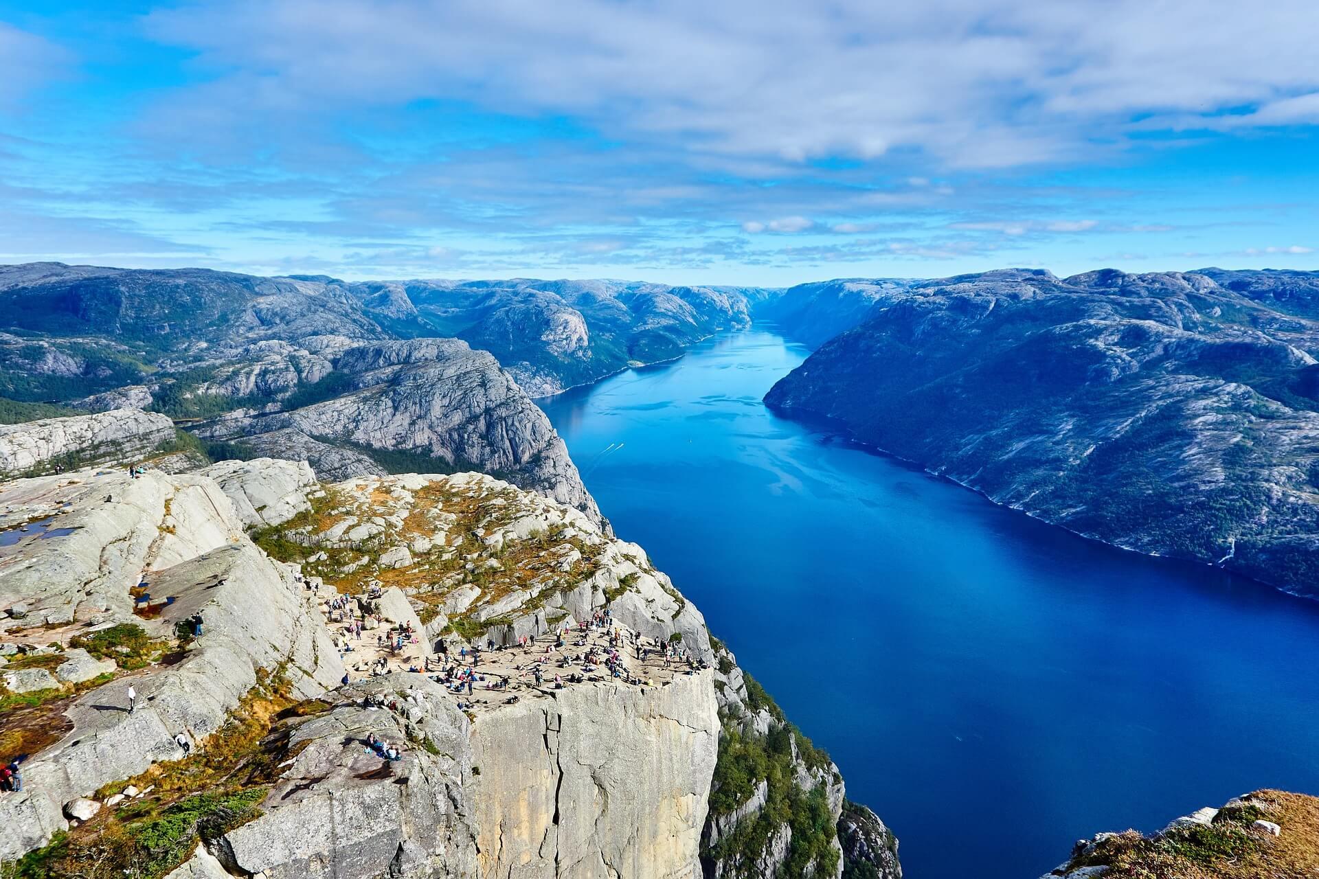 Destinazioni crociere Fiordi Norvegesi