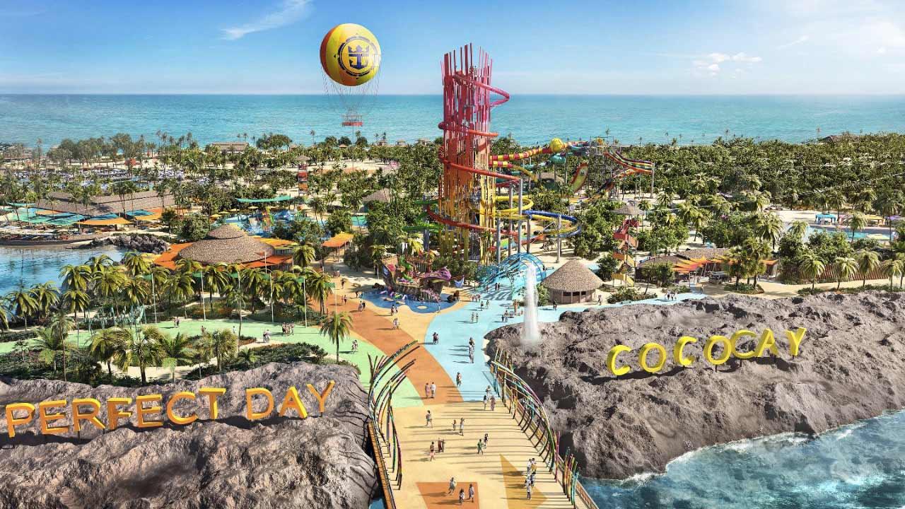 Le novità di Royal Caribbean a CocoCay