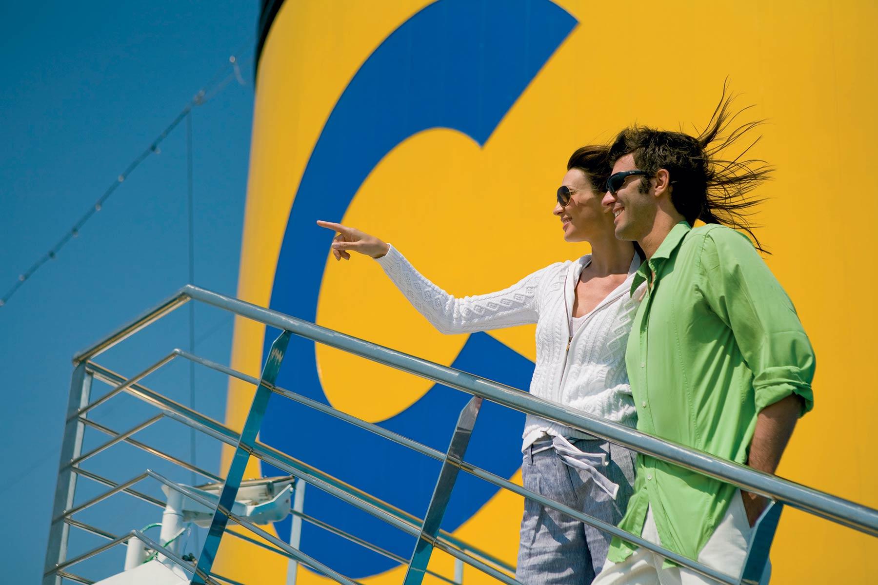 """COSTA SMERALDA: innovazione """"green"""" per la nuova ammiraglia di Costa Crociere"""