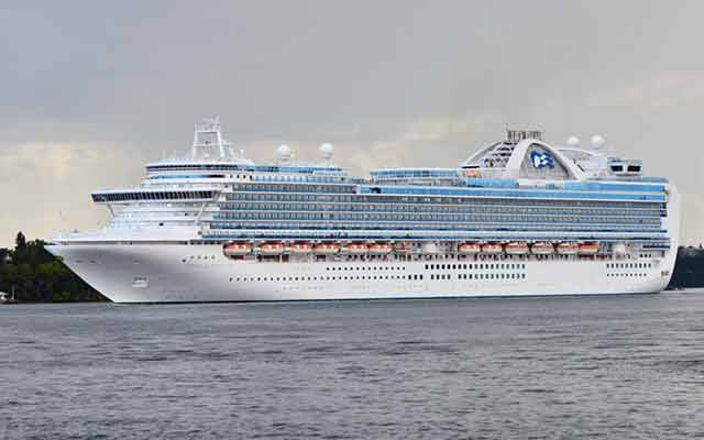 Navi da crociera Emerald Princess