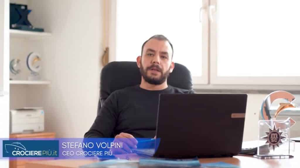 Coronavirus: Ascolta il video messaggio di Stefano Volpini, CEO di CrocierePiù