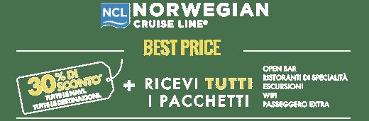 Promo Best Price NCL - CrocierePiù